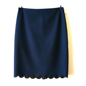 Banana Republic Scalloped Skirt